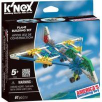K'Nex - Knex - 33118A - Jeu De Construction - Avion - PremiÈRES Constructions
