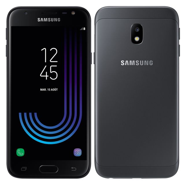Samsung Galaxy J3 2017 - SM-J330FZKNXEF - Noir pas cher - Achat ... 9d7d4be1a10e