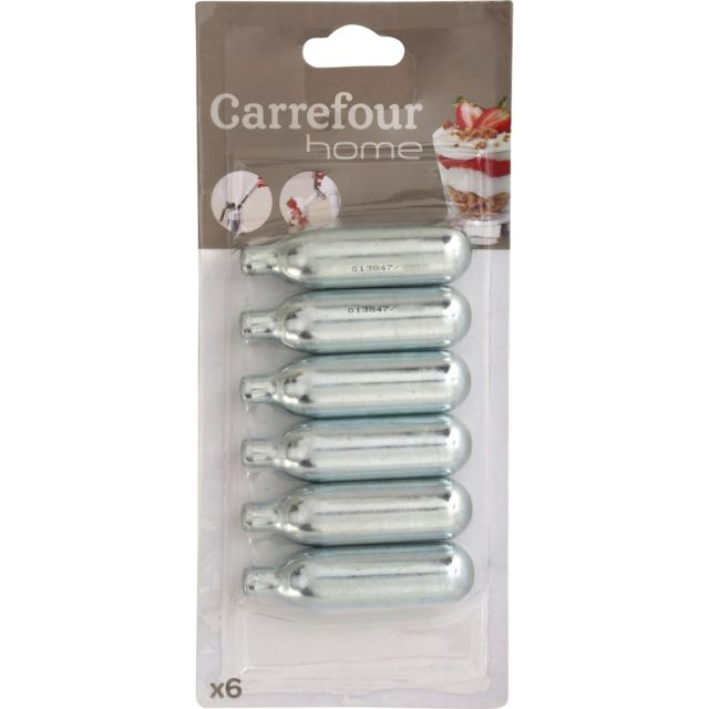 Carrefour Home Recharge Cartouche Chantilly Pas Cher