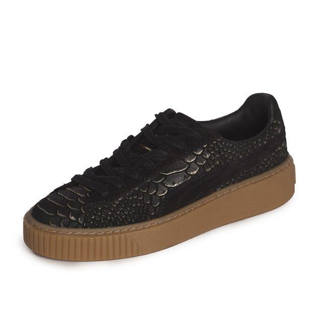 823917e4d63 Puma - Baskets Platform Exotic Skin Wn s - 36337701 - pas cher Achat   Vente  Baskets femme - RueDuCommerce