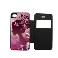 Etui Housse Folio Girli Femme Fleur Swag Dessin love Compatible Iphone 6 -  6S 5fb47b6fe29d