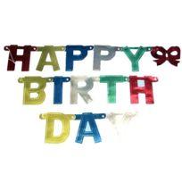 Riethmueller - Buchstabenkette: HAPPY Birthday