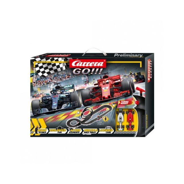 Carrera Circuit voitures Coffret Speed Grip - Dès 6 ans - Go!!! 62482