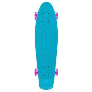 Prohibition - Skateboard Retro Plastic W / Lumina Wheels - Blue