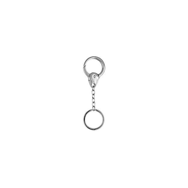 1001BIJOUX - Porte clef acier anneau - pas cher Achat   Vente ... 5027c1d9728