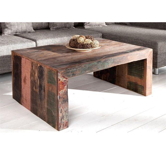 CHLOE DESIGN Table basse bois Jakarta - bois