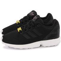 Adidas originals - Zx Flux Nylon Noir Et Blanc Enfant