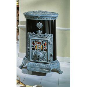 godin po le bois charbon 3726 bleu majolique pas cher achat vente chemin es rueducommerce. Black Bedroom Furniture Sets. Home Design Ideas