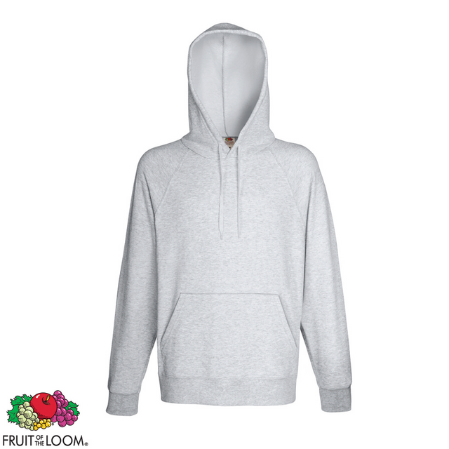 88e43b1102871 Fruit Of The Loom - Fruit of the Loom Sweat shirt à capuche Homme Hoodie  Gris