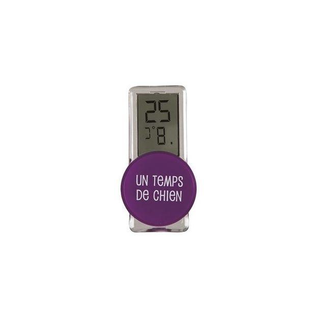 Thermomètre extérieur - Violet