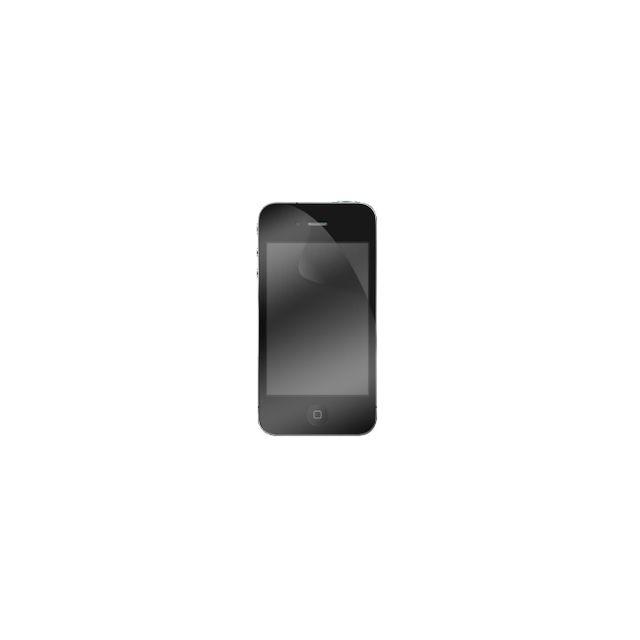 Modelabs - Lot de 2 protections ecran 1 transparent et 1 privee pour iPhone 4/4S