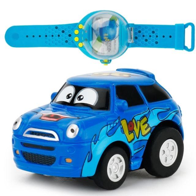 Voiture Cadeau Wewoo Radiocommandée Bleu Enfants Télécommandée DIH2E9
