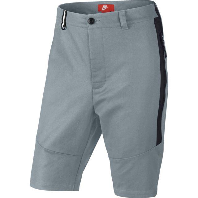 Nike - Short Tech Woven - 614632-088 Gris - 28 - pas cher Achat   Vente Short  homme - RueDuCommerce 32f9b2eb0f6