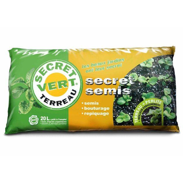 SECRET VERT Secret Semis 20 litres