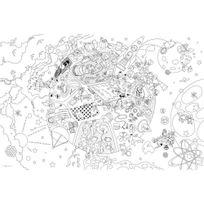 """Bouchut Grandremy - coloriage géant thème """"les savants fous"""