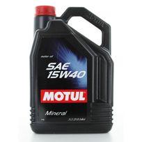 Motul - Huile Moteur Sae 15W40 - Bidon de 5 L