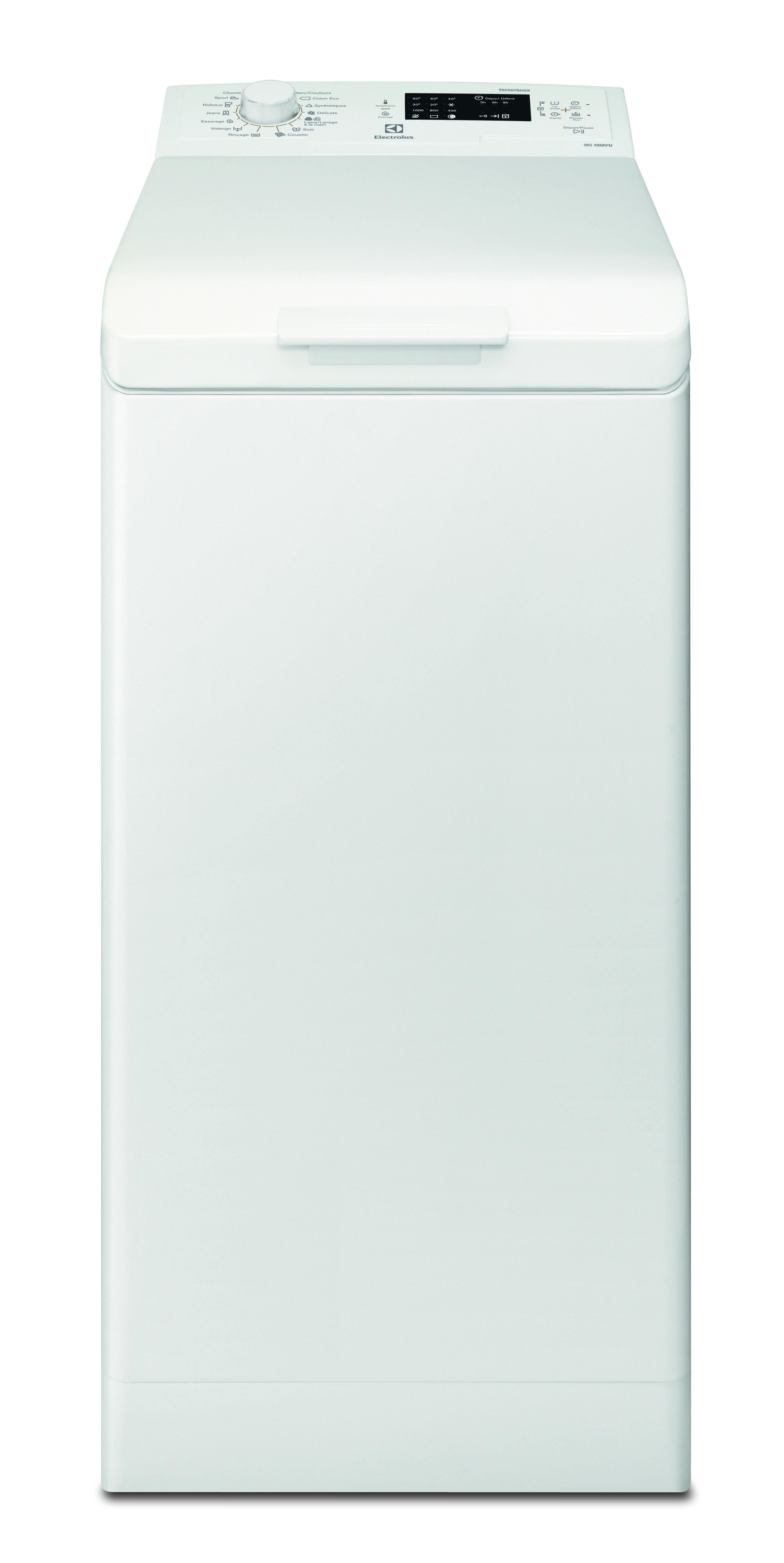 Lave-linge top Ewt1060SSW