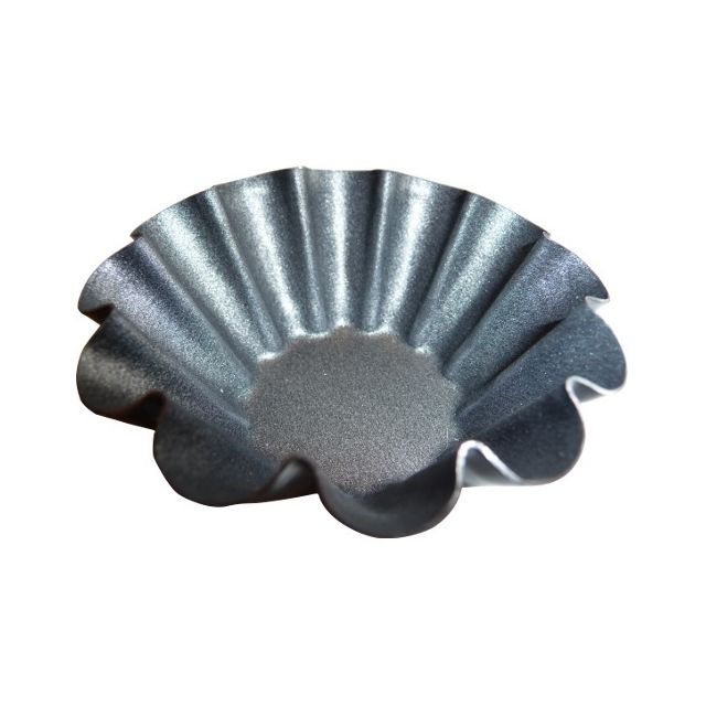 Guery Moule à brioche 12 côtes anti-adhésif 6 cm