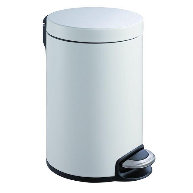 Eko Poubelle Serene Step Bin 20L Blanc