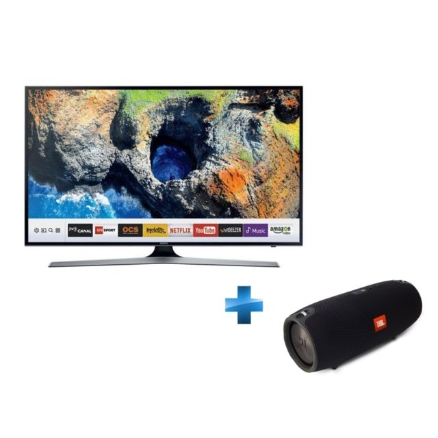 Samsung - TV Led 75 -75MU6102KXXH + Enceinte nomade Xtreme - Noir