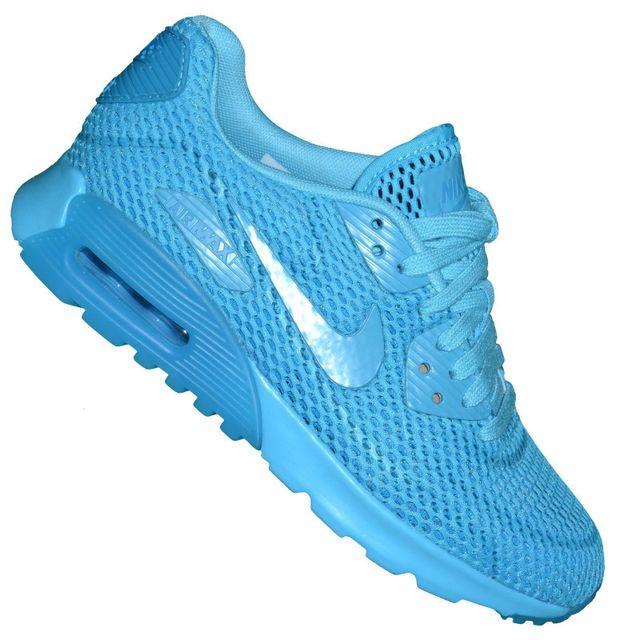 3ead4b180dd Nike - Basket - Femme - Air Max 90 Ultra Br 222 - Bleu Gamma - pas cher  Achat   Vente Baskets femme - RueDuCommerce