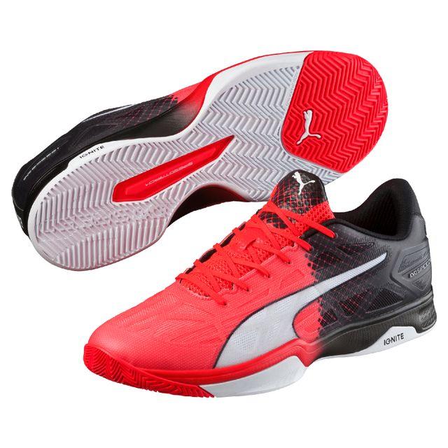 Evospeed Rouge Indoor 1 Fluoblancnoir Puma 5 Chaussures 39 lKuc3TF1J
