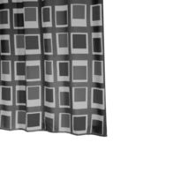 Ridder - Up and Down 0-350 Rideau de douche textile Gris180 x 200 cm
