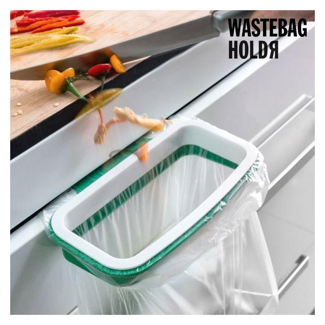 Totalcadeau Porte sacs poubelle - Cuisine acessoire
