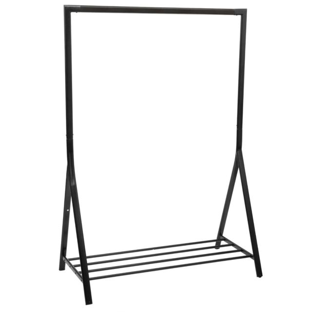 atmosphera portant v tements athena noir pas cher. Black Bedroom Furniture Sets. Home Design Ideas