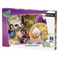 Nathan Jeux - Disney - Puzzle 60 pièces Fairies