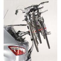 Porte-vélo réhaussé, sur hayon Premium 3 vélos, A014PCAD, fixation sur coffre ou Hayon