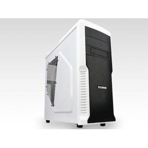 ZALMAN - Boitier PC ATX Z3 Plus - Blanc
