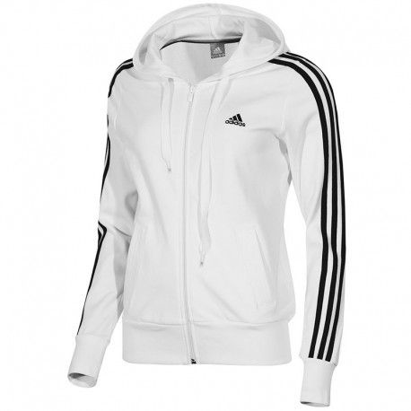sweat adidas blanc homme