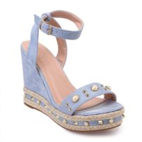 615c4dc42f90 Sandales avec perles - catalogue 2019 - [RueDuCommerce - Carrefour]