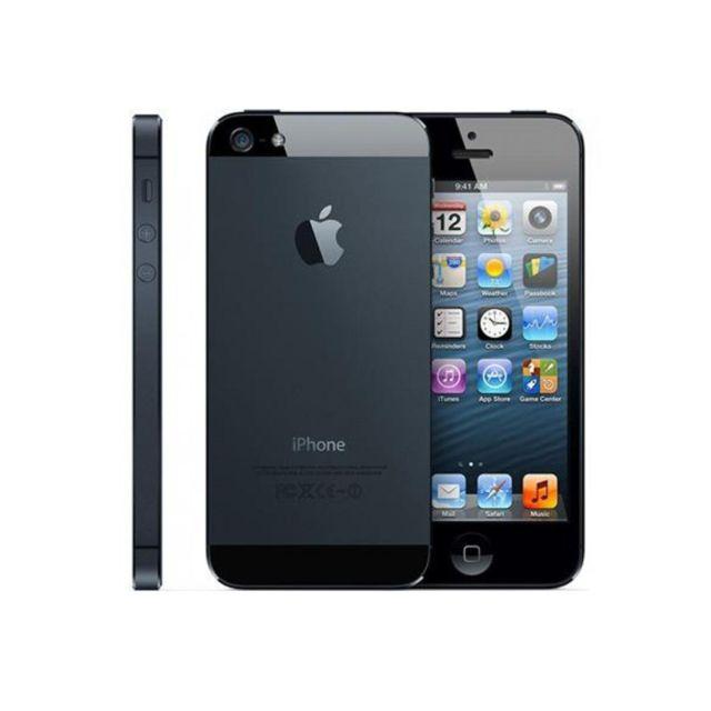 APPLE - iPhone 5 Noir 16Go - reconditionné à neuf - Débloqué