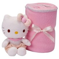 Augusta du Bay - Coffret Couverture et Peluche Hello Kitty By Augusta