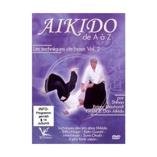 BQHL Editions Aikido de A à Z - Vol. 2 Les techniques de base