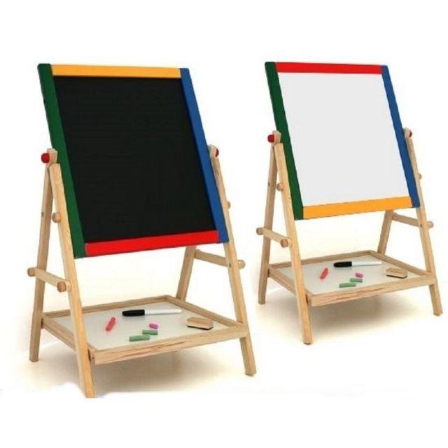 marque generique tableau enfant double face feutre craie. Black Bedroom Furniture Sets. Home Design Ideas