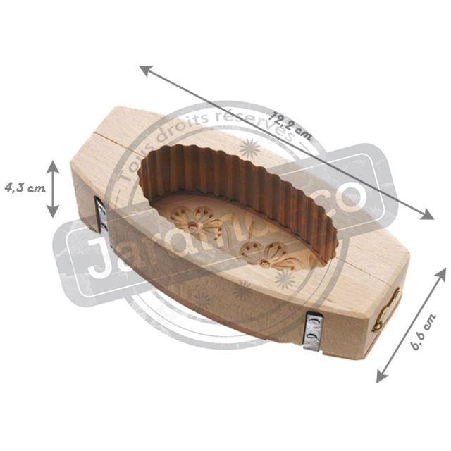 Tellier - Moule à Beurre Cannelé 250 Grammes