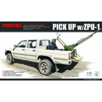 Men model - Pick Up W/ZPU-1 PLASTIC Model