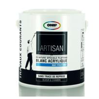 ONIP - Peinture blanche spéciale plafond Mat 2,5 ou 10L