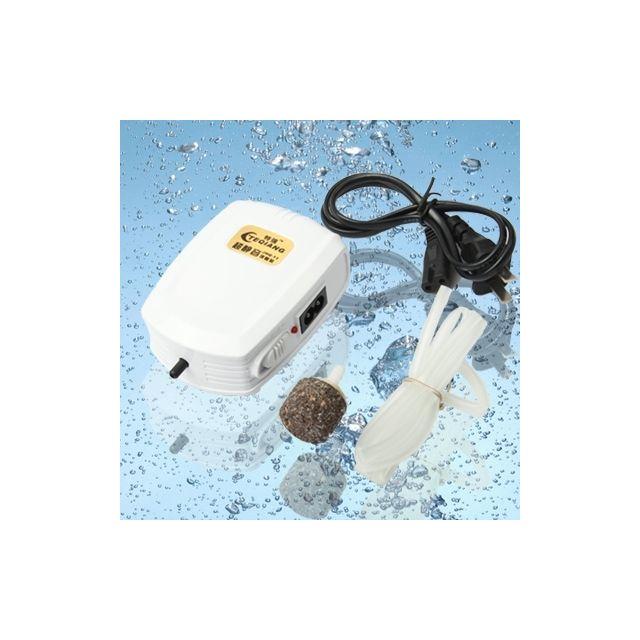Wewoo Pour le réservoir d'aquarium Oxygénateur électrique portatif de pompe à oxygène de à air portative de 220V