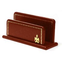 Volumica - Porte-lettres/courrier en Cuir Bordeaux Collection Napoléon