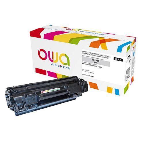 Toner Armor Owa compatible Hp 83X-CF283X noir pour imprimante laser