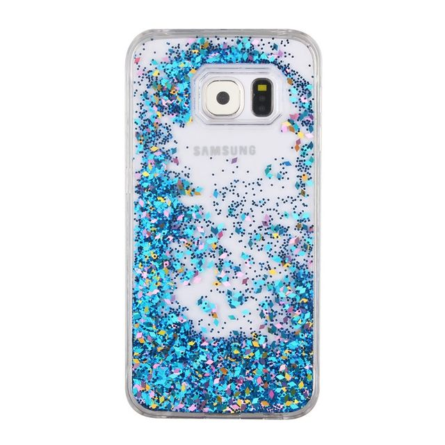 coque samsung galaxy s7 edge paillette liquide