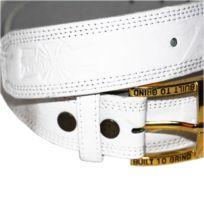 Independent - Ceinture cuir Doc white gold