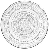 Littala - Assiette plate iittala Kastehelmi Ø 31,5 cm- Transparent Ø 31,5 cm