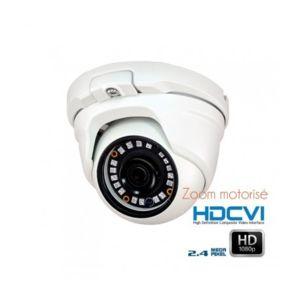 Dahua - Caméra dôme de surveillance Hdcvi zoom motorisé 2.8 à 8mm