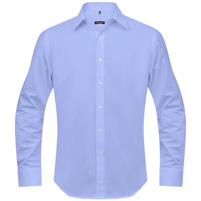 Vidaxl - Chemise pour hommes taille S Bleu claire