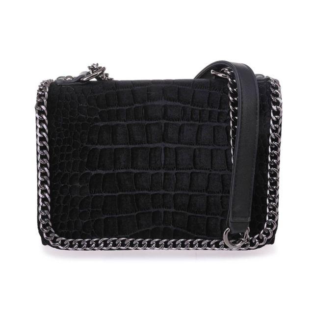 2e70eabada Lamodeuse - Sac noir bordures chaînes - pas cher Achat / Vente ...